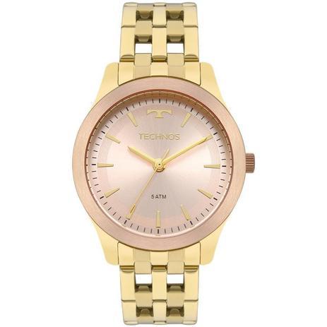 Relógio Technos Feminino Ref  2035mpm 5t Elegance Dourado - Relógio ... e116006ff3