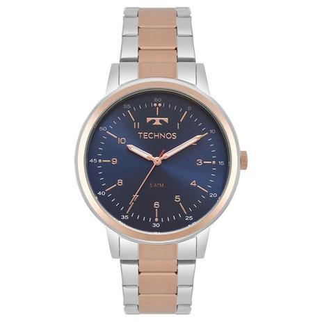 Relógio Technos Feminino Ref  2035mpq 5a Bicolor Rosé - Relógio ... 2f8cba0789