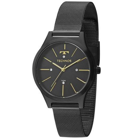 f633b6c99cbbb Relógio Technos Feminino Ref  2039bg 4p Pulseira Esteira - Relógio ...