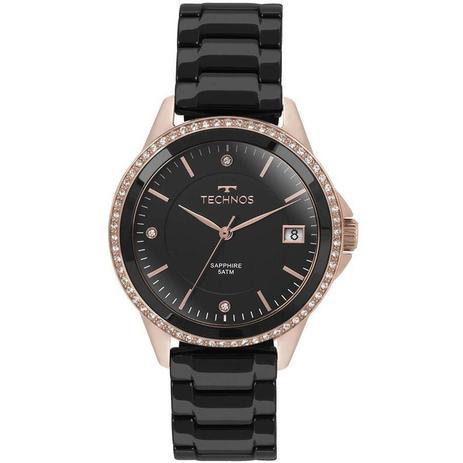 7ed5c0d7a4d Relógio Technos Feminino Ref  2315kzr 4p Social Rosé - Relógio ...