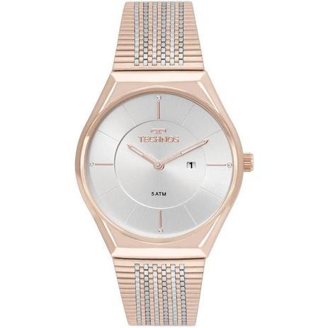 53139c49353 Relógio Technos Feminino Ref  Gl15ap 4b Slim Rosé - Relógio Feminino ...