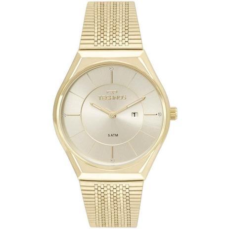 49c541ec7c6 Relógio Technos Feminino Ref  Gl15ar 4x Slim Dourado - Relógio ...