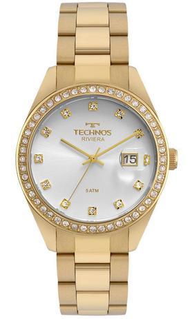 Relógio Technos Feminino Riviera Dourado 2115moi 4k - Relógio ... 65c79c64f2