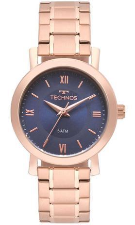 6bb3e38547214 Relógio Technos Feminino Rosé Elegance 2035MMQ 4A - Relógio Feminino ...