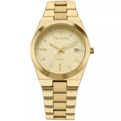 54e325e9594 Relógio Technos Feminino Trend Dourado 2115KZR4X - Relógio ...
