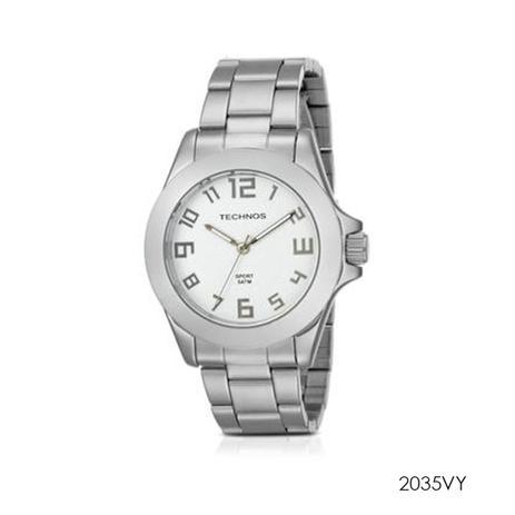 314e6e9685c40 Relógio technos masculino classic steel 2035vy - Relógio Masculino ...
