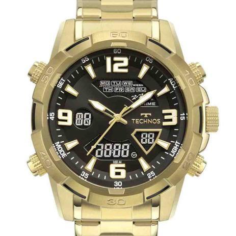 Imagem de Relógio Technos Masculino Digiana Dourado W23305AB/1P