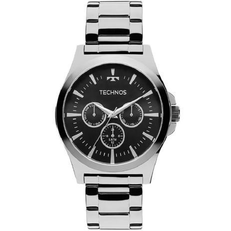 Relógio Technos Masculino Multifunção Classic Steel 6P29AJK 1P Prateado af34de9027