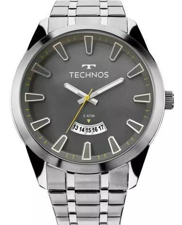 Imagem de Relógio Technos Masculino Prateado Racer 2115KZB/1C