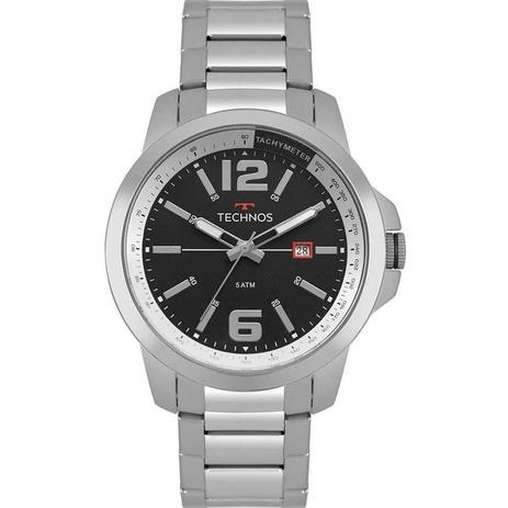 4565a97e8 Relógio Technos Masculino Racer Prata 2115MRP/1P - Relógio Masculino ...
