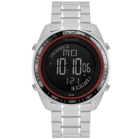 4536f5c462 Relógio Technos Masculino Racer Prata Bj3373ab 1p - Relógio ...