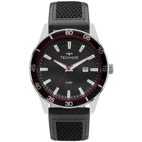 70e2fb64695c7 Relógio Technos Masculino Racer Preto Prata 2115mmz 0p - Relógio ...