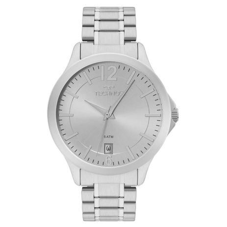 04f5f664b26 Relógio Technos Masculino Ref  1s13cg 1k Classic Prata - Relógio ...