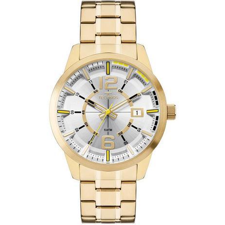 1f823a07bd133 Relógio Technos Masculino Ref  2315kzw 4d Racer Dourado - Relógio ...