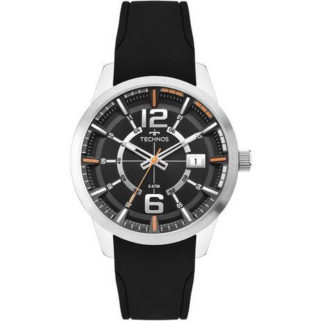 b17d3a9d0f9ff Relógio Technos Masculino Ref  2315kzx 0p Racer Prata - Relógio ...