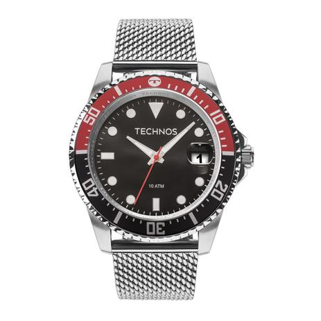 d9a130b7fbe Relógio Technos Masculino Ref  2415cj 0p Pulseira Esteira - Relógio ...