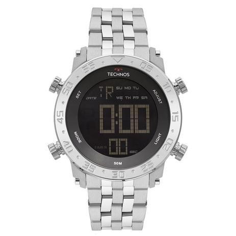 00037a50a52 Relógio Technos Masculino Ref  Bjk006ab 1p Digital Prata - Relógio ...