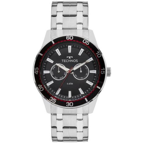 fc577426e0a5a Relógio Technos Skymaster Masculino 6P25BO 1P Prata - Relógio ...