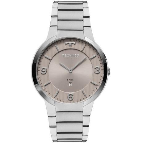 1f7209a46fca2 Relógio Technos Slim Analógico Feminino GL15AO 1C - Relógios ...