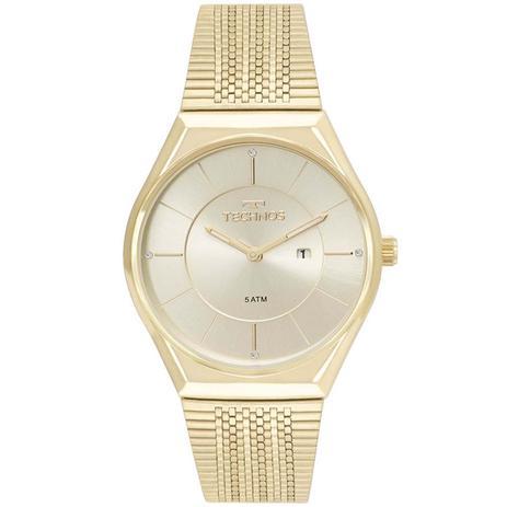 11b8cc6693034 Relógio Technos Slim Analógico Feminino GL15AR 4X - Relógios ...