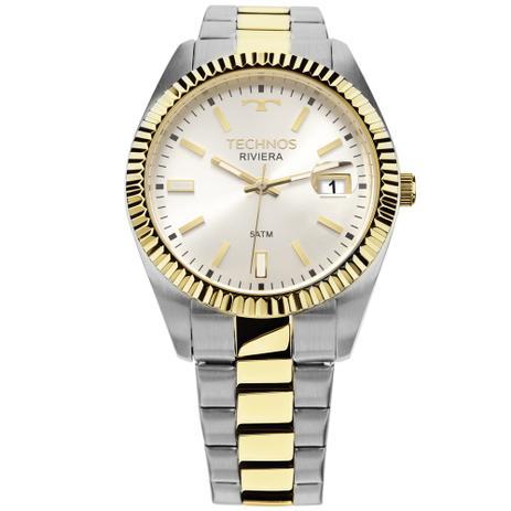 118cbd8d161 Relógio Technos Unissex Classic Riviera Analógico 2415CG 5B ...