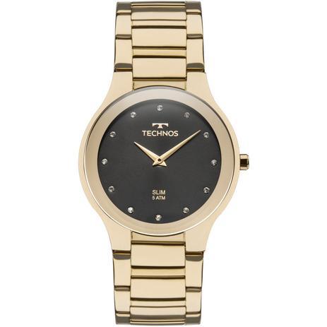 Relógio Technos Unissex Classic Slim Analógico 1L22WI 4P - Relógio ... 23d86f9839