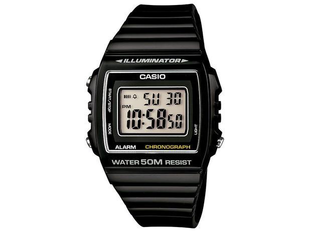 4e84db062a3 Relógio Unissex Casio Digital - Vintage W-215H-1AVDF - Relógio ...