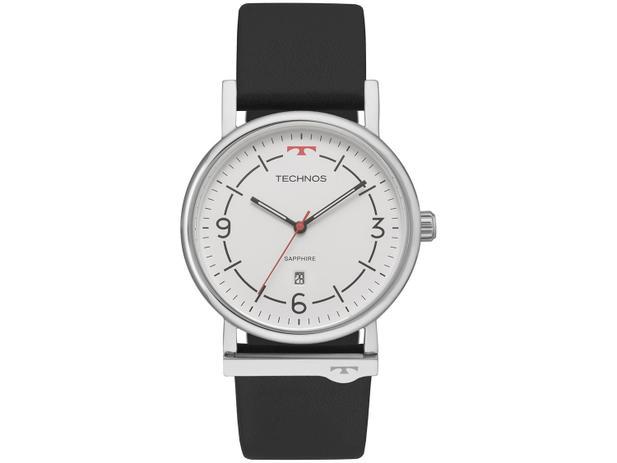 cb3c5993dde73 Relógio Unissex Technos Analógico Slim - 9U13AC 1B - Relógio ...