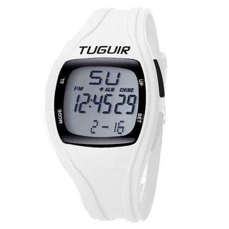 371558704f6 Relógio Unissex Tuguir Digital TG1602 Branco - Relógio Masculino ...