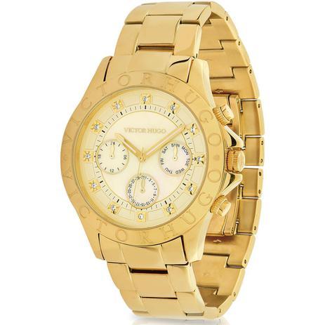 e7fb2fdc8 Relógio Victor Hugo Luxo Feminino - VH10155LSG/54M - Relógio ...