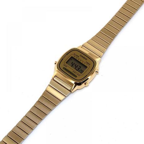 b9653ac4e40 Relógio Vintage Collection Dourado Digital- Casio - Relógios e ...