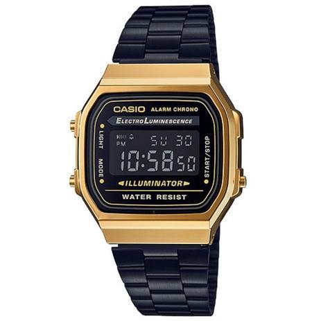 aa0100d9225 Relógio Vintage Digital A168wegb-1bdf - Casio - Relógios e ...