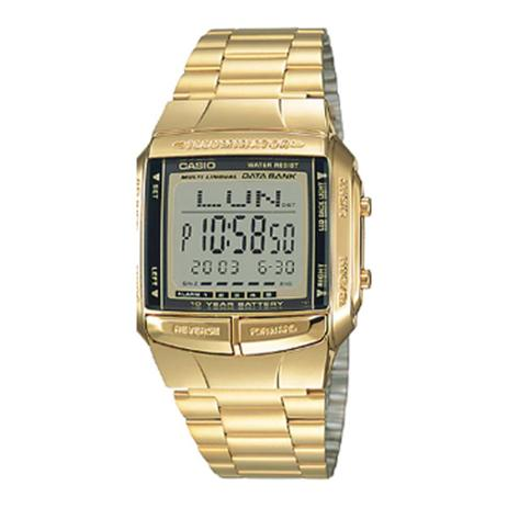 3f5f58db7e7 Relógio Vintage Dourado Resistente a Água - Casio - Relógio Feminino ...