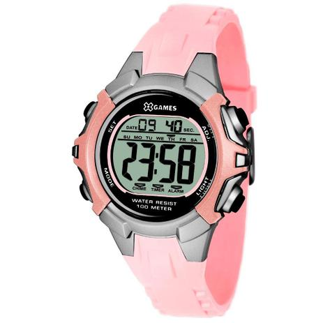 46f7ee5699fb Relógio X-games Feminino Digital Xfppd053 Bxrx - Relógio Feminino ...