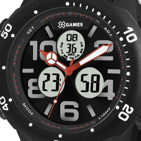 5dfd4fa5793 Relógio X-Games Masculino Analógico Digital Preta XMPPA221P2PX ...