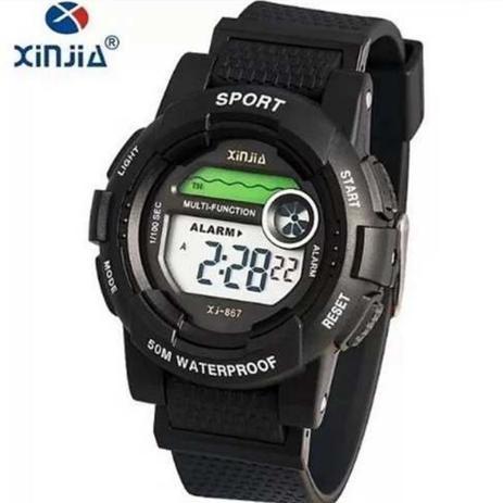 75021ea999 Relogio Xinjia Digital Prova De Agua Xj-867 - Relógio de Pulso ...