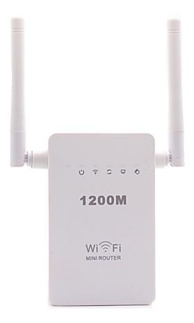 Imagem de Repetidor Roteador Wifi 1200mbps 2 Antenas Amplificador Wps
