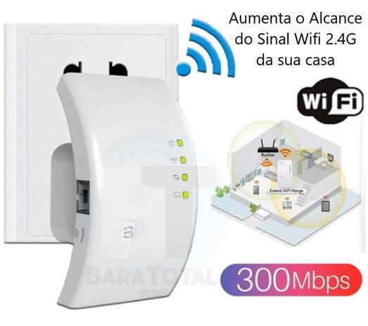 Repetidor Sinal Wifi 600 Mbps Internet Sem fio Sinal Forte Promocao Oferta Grande - Baratotal Store