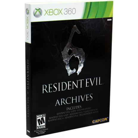 Imagem de Resident Evil 6 Archives - Xbox 360