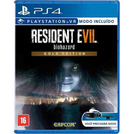 Imagem de Resident Evil 7 Biohazard Gold Edition - PS4