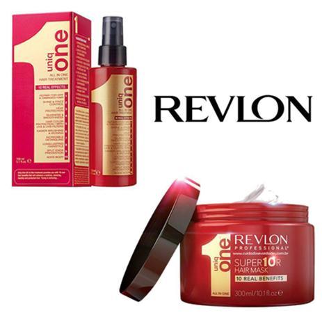 Imagem de Revlon Uniq One Leave-in - 150ml + Máscara Revlon Professional Uniq One All In One Supermask 300ml