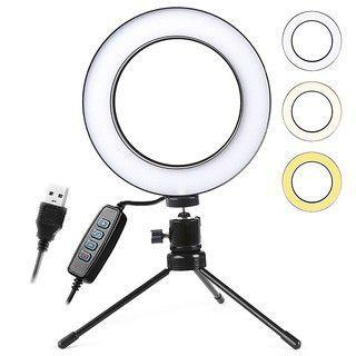 Imagem de Ring Light Mini Tripé 16cm