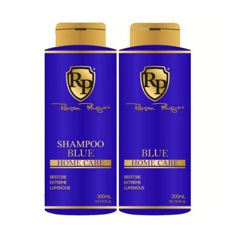 Imagem de Robson Peluqueiro Kit Matizador Blue Shampoo + Máscara 300ml