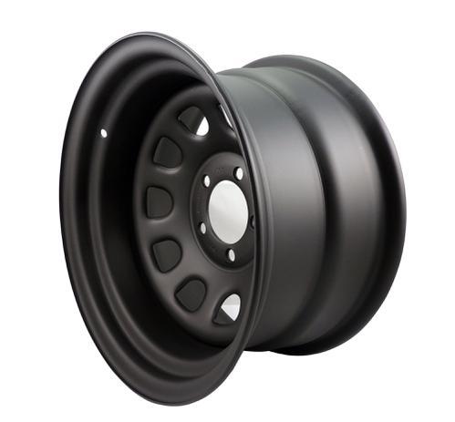Roda Daytona Black Aro 16x8 Furação 6x139.7 Preto Fosco em Aço Reforçado  Estilo Mangels - Fortwheel 83936c7acb8ab