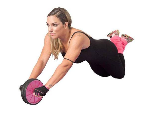 Roda para Exercícios Abdominais Acte Sports - Cau Saad