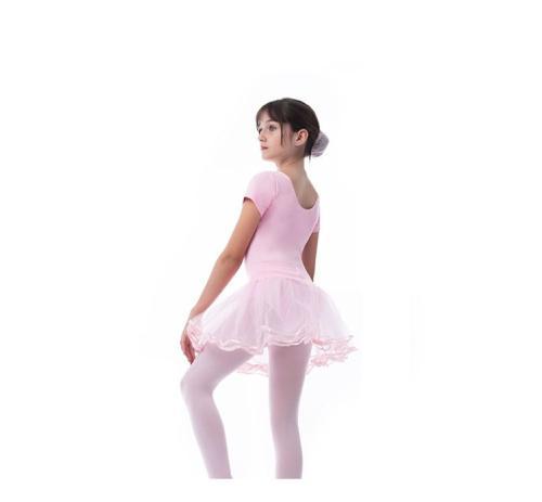 Imagem de Roupa de Ballet Bailarina com Saia de Tule Tutu para 7 anos
