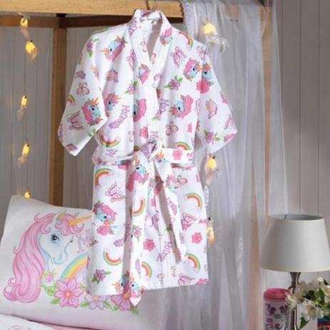e501c57860 Roupao Infantil Unicornio Joyce 01 P Dohler - Banho - Magazine Luiza