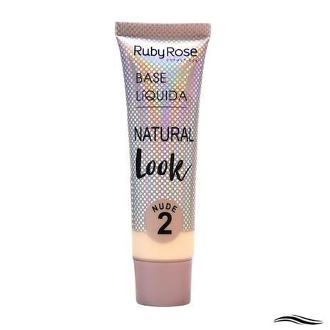Imagem de Ruby Rose Natural Look Cor Nude 2 - Base Líquida