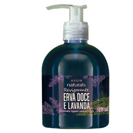 099c997ab96 Sabonete Líquido para Mãos Naturals Erva Doce e Lavanda - 250 ml ...