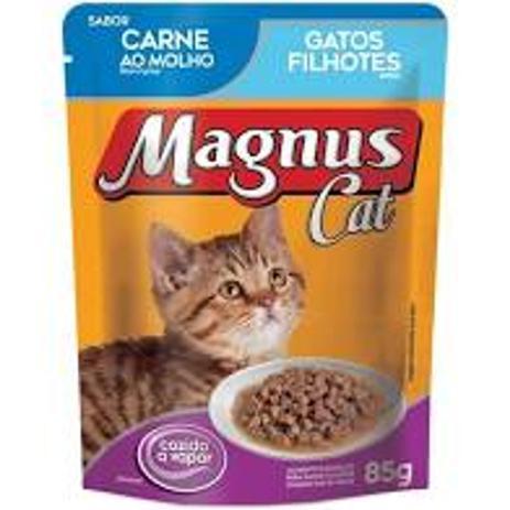 Imagem de Sache Magnus Cat Carne Filhotes 85 gr